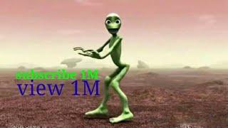Nagin Dance / funny Green alien cartoon dance songs full HD