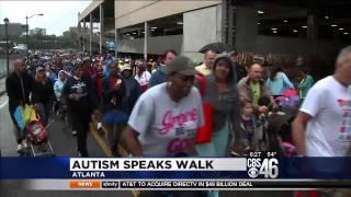 CBS News Feat. Walk for Autism Speaks, Atlantic Station