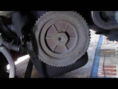 Замена ремня генератора,Fiat Seicento 0.9
