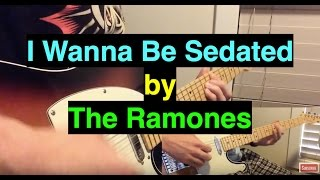 The Ramones - I Wanna Be Sedated (Instrumental Guitar Arrangement)