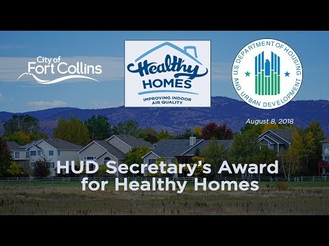 HUD Secretary's Award for Healthy Homes