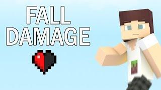 Fall Damage (Minecraft Animation)