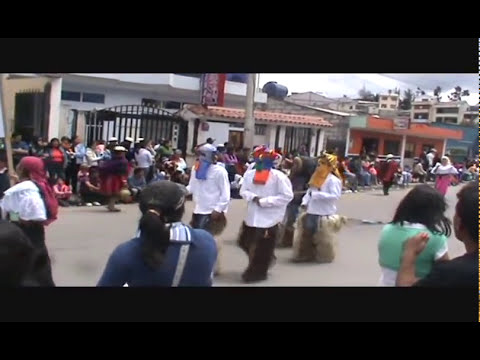 SEGUNDA PARTE DESFILE DEL CANAR 2010  canar ECUADOR CANARIS
