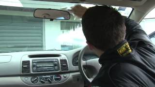 How to clean your cars Interior with CRC Industries