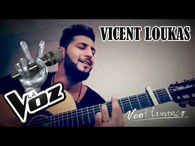 Video de Vincent Loukas en acústico para Veo Flamenco - El Cantante