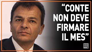 """Fassina (LeU): """"Con il MES si aggravano i rischi per il nostro debito pubblico"""""""