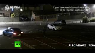 Driver catapults man 15 ft into air, attacks again in hit and run in UK (Disturbing CCTV footage)