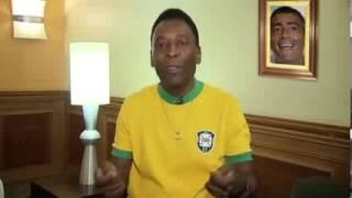 """Internautas não gostaram e """"corrigiram"""" o discurso de Pelé"""