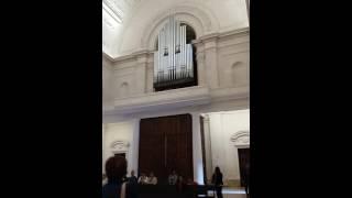 Órgão de tubos em Fátima