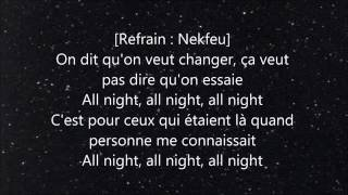 |Lyrics| Nekfeu feat. 86 Joon - 7 :77 AM [PAROLES]