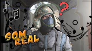 CS:GO COM O SOM REAL DAS ARMAS ( Animação )