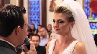 E quando o Noivo faz uma homenagem a noiva - Casamento Andrielly e Pedro