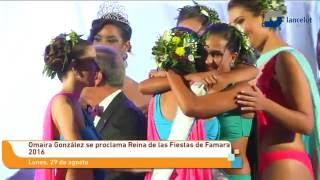 Omaira González se proclama Reina de las Fiestas de Famara 2016
