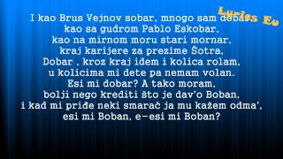 Bad Copy - Esi mi dobar [Tekst][Lyrics][HD] (Krigle 2013)