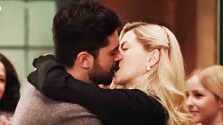 Alicia entró al conventillo y vio a Aldo besándose apasionadamente con Raquel