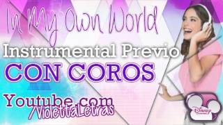 Violetta - In My Own World - Instrumental Previo Con Coros