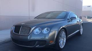 2008 Bentley GT SPEED At Celebrity Cars Las Vegas