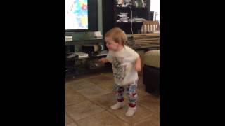 The potty song dance.