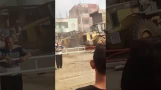 اول فيديو ازلة محلات الصالحية القديمة بشرقية اليوم 25/5/2017