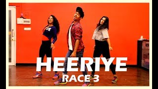 Heeriye Race 3 dance  | Salman Khan, Jacqueline | Vicky and aakanksha