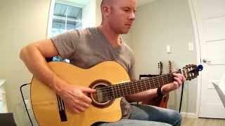 Sam Smith: Writing's On the Wall for classical guitar (Spectre) + TAB