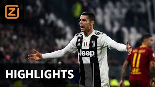 Juventus vs AS Roma   Serie A 2018/19   Samenvatting