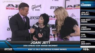 "Joan Jett On Board With Ronda Rousey's ""Bad Reputation"""