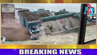 House Collapse due to Heavy Rain Landslide  in ''Kerala and Madikeri'' A2Z TV width=