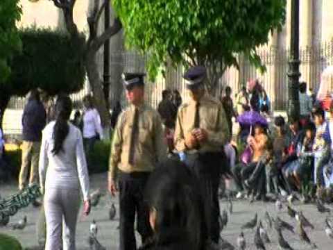 Viaje por Sudamerica di Giacomo Sanesi. Arequipa (PER). 01683 – plaza de armas y catedral