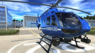 Police Helicopter Simulator - First Look Gameplay! 4K