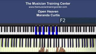 "Piano: How to Play ""Open Heaven"" by Maranda Curtis"