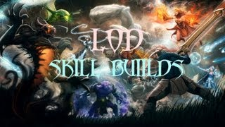 Dota - LoD Skills Builds [One Hit Kill Combo (Ranged)]