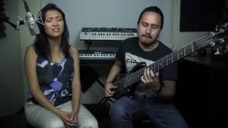 While My Guitar Gently Weeps - The Beatles (Voz&Bass Cover)