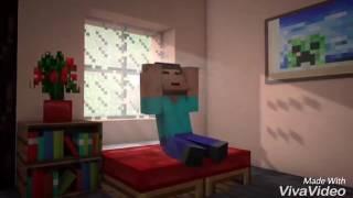 Minecraft animação (música whinderson Nunes cansei de ser pobre)