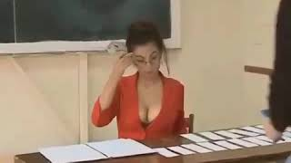 Prank con maestra hot