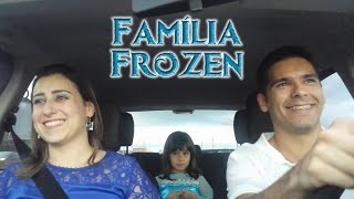 Família Frozen dubla Let it Go