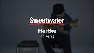 Hartke TX600 Bass Amplifier Demo with Victor Wooten