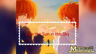 [MYSTIC MESSENGER] Like the Sun in the Sky Song Cover (English)