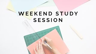 Weekend Study Session