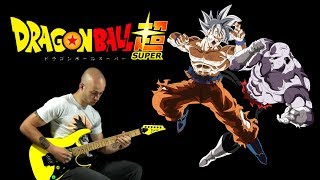 Dragon Ball Super - ULTIMATE BATTLE - guitar cover