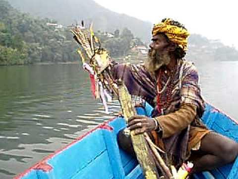 Shiva baba, Pokhara Lake, Nepal Nov 06