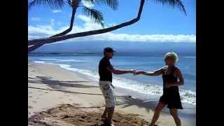 Dancing on the Beach in Maui, Hawaii