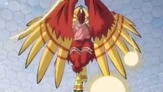 Digimon Adventure Tri.Soushitsu (Pérdida)- Birdramon/Angemon - MegaDigievolutions-Sutitulos Español
