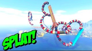 GTA 5 is BROKEN --- AUTOMATIC STUNT (custom races with Links) / K-391 - Everybody [NCS Release]