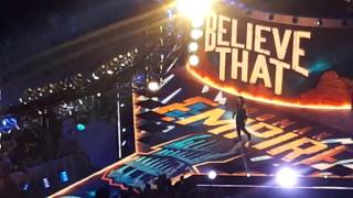 summerslam 2016 resuv and roman reigns entrance live