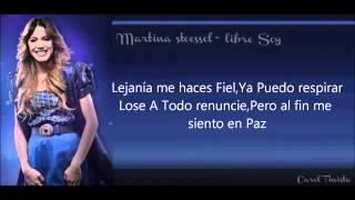 Libre Soy Frozen (Martina Stoessel) (Karaoke)