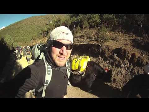 Kapua-ryhmän vaellus osa 2, Matka perusleiriin   Mandala Travel