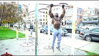 Kali Muscle:  Muscle Ups  {240 LBS}