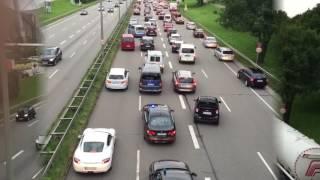Amoklauf in München: Polizei zieht Kräfte zusammen.
