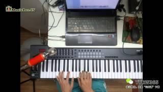 深度键盘编曲解析周杰伦版《默》---即兴创作编曲教程及编曲讲座